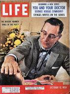 LIFE Magazine October 12, 1959 Magazine