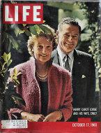 LIFE Magazine October 17, 1960 Magazine