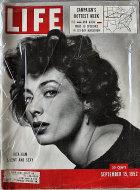 LIFE Magazine September 15, 1952 Magazine