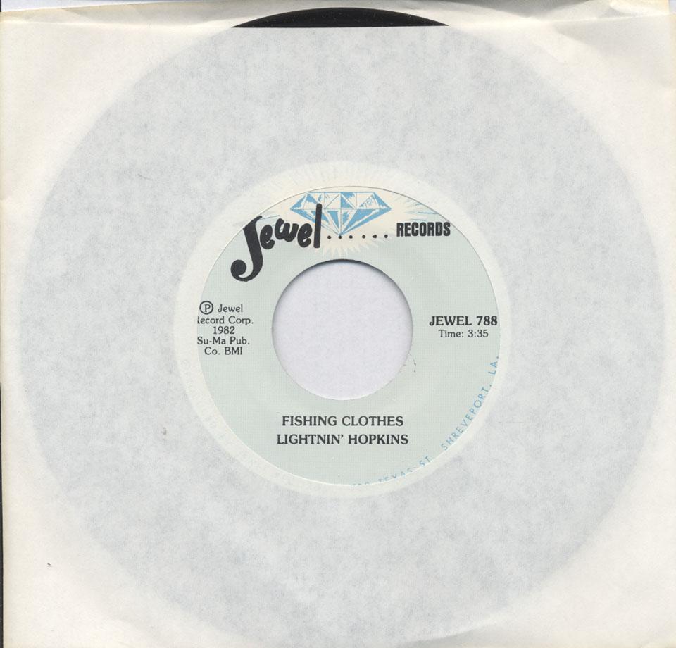"""Lightnin' Hopkins Vinyl 7"""" (Used)"""