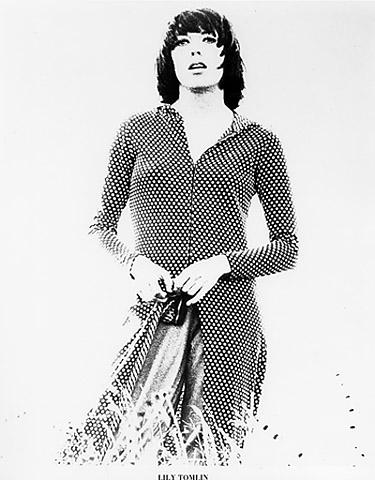 Lily Tomlin Promo Print