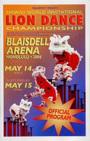 Lion Dance Championship Program