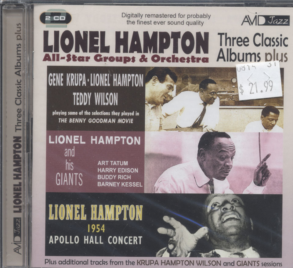 Lionel Hampton All-Star Groups & Orchestra CD