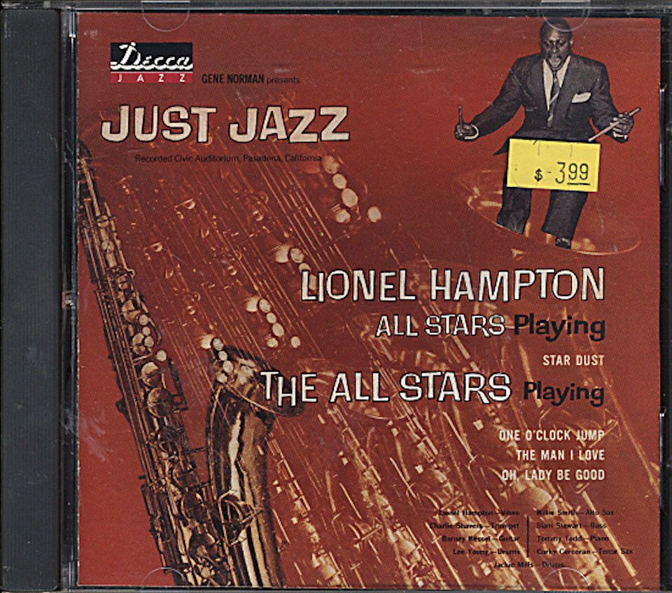 Lionel Hampton All Stars CD
