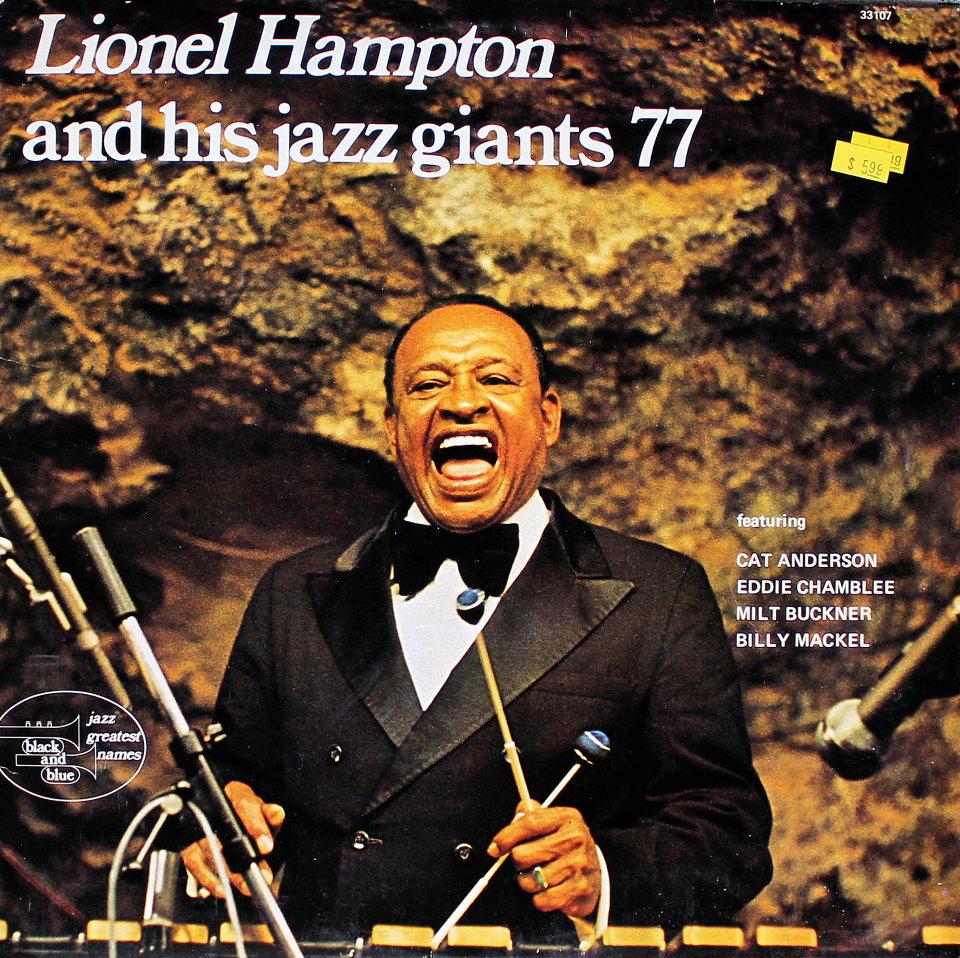 """Lionel Hampton And His Jazz Giants 77 Vinyl 12"""" (Used)"""