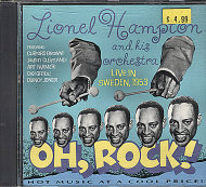 Lionel Hampton and his Orchestra: Oh, Rock! Live in Sweden 1953 CD
