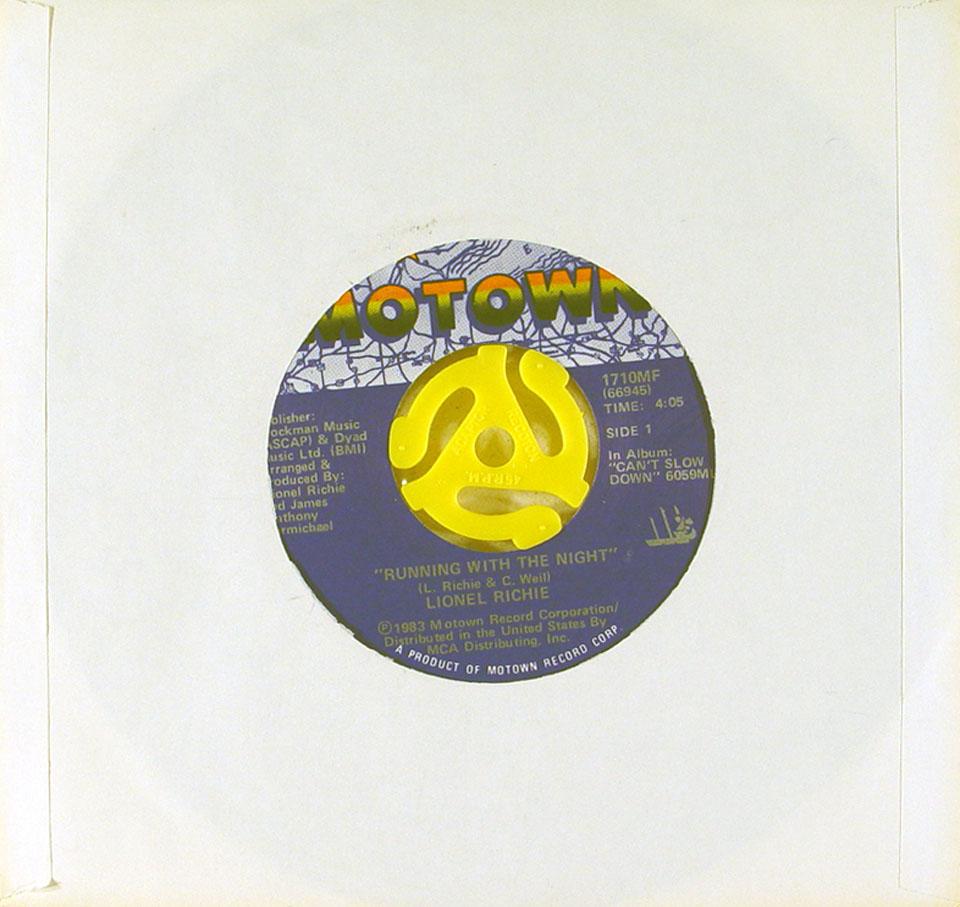 """Lionel Richie Vinyl 7"""" (Used)"""