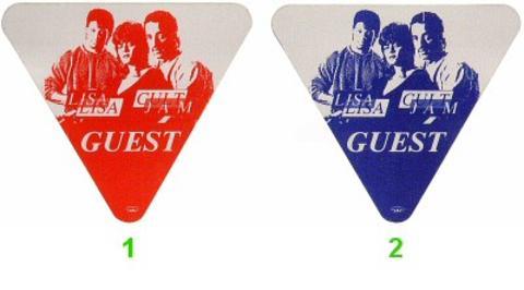 Lisa Lisa and the Cult Jam Backstage Pass