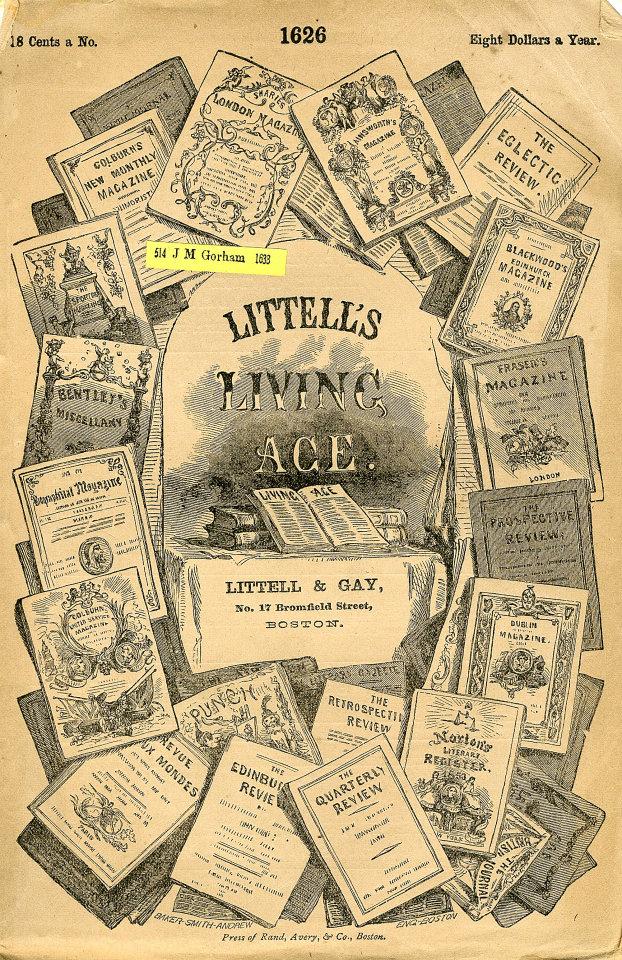Littell's Living Age 8/7/1875