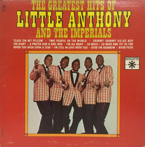 "Little Anthony & The Imperials Vinyl 12"" (Used)"
