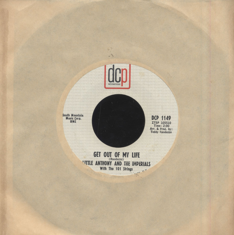 """Little Anthony & The Imperials Vinyl 7"""" (Used)"""