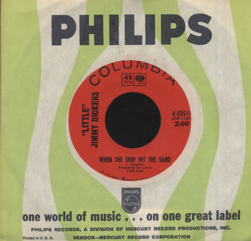 "Little Jimmy Dickens Vinyl 7"" (Used)"