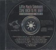 Little Mack Simmons CD