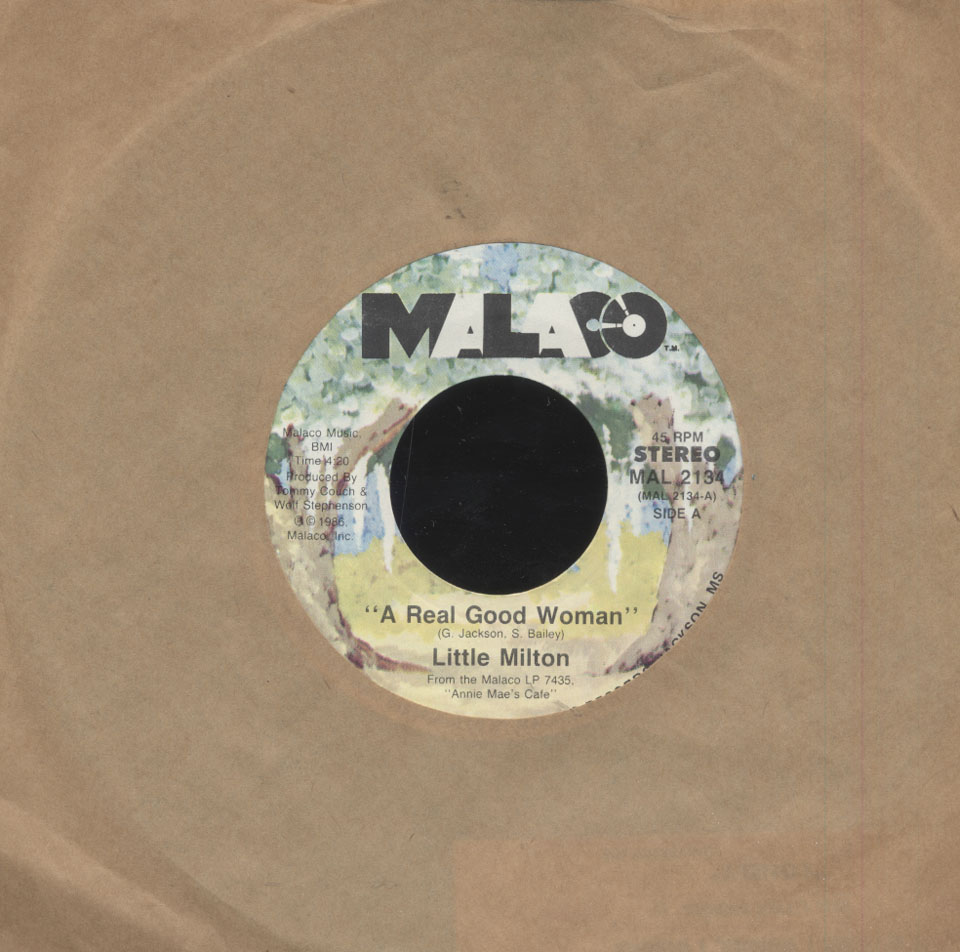 "Little Milton Vinyl 7"" (Used)"