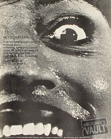 Little Richard Handbill