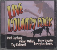 Live Country Rock CD