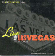 Live From Las Vegas: Advance Sampler CD