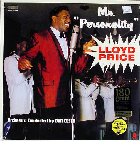 "Lloyd Price Vinyl 12"" (New)"
