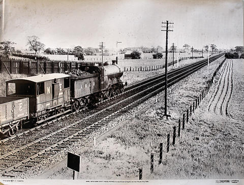 LNER, former GNR IVATT Atlantic No. 4422 Poster