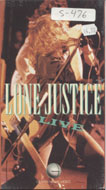 Lone Justice:  Live VHS