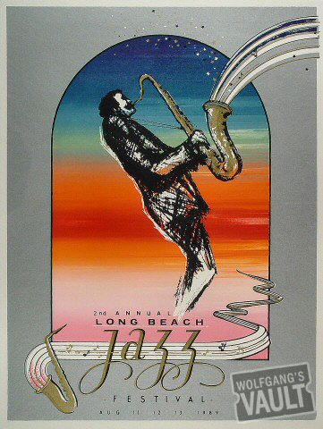 Long Beach Jazz Festival Poster