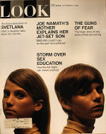 LOOK Magazine September 09, 1969 Magazine