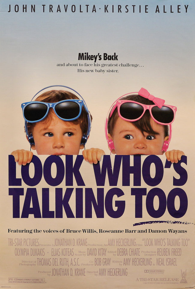 Look Who's Talking Too Poster