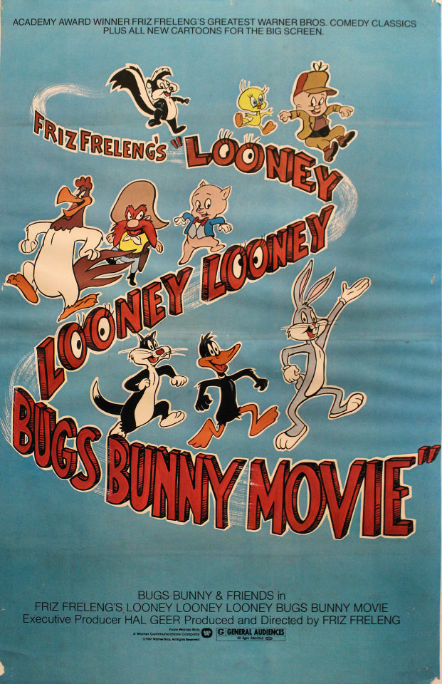 Looney Looney Looney Bugs Bunny Movie Poster