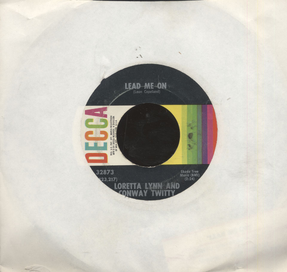 """Loretta Lynn And Conway Twitty Vinyl 7"""" (Used)"""