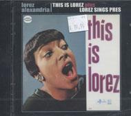 Lorez Alexandria CD