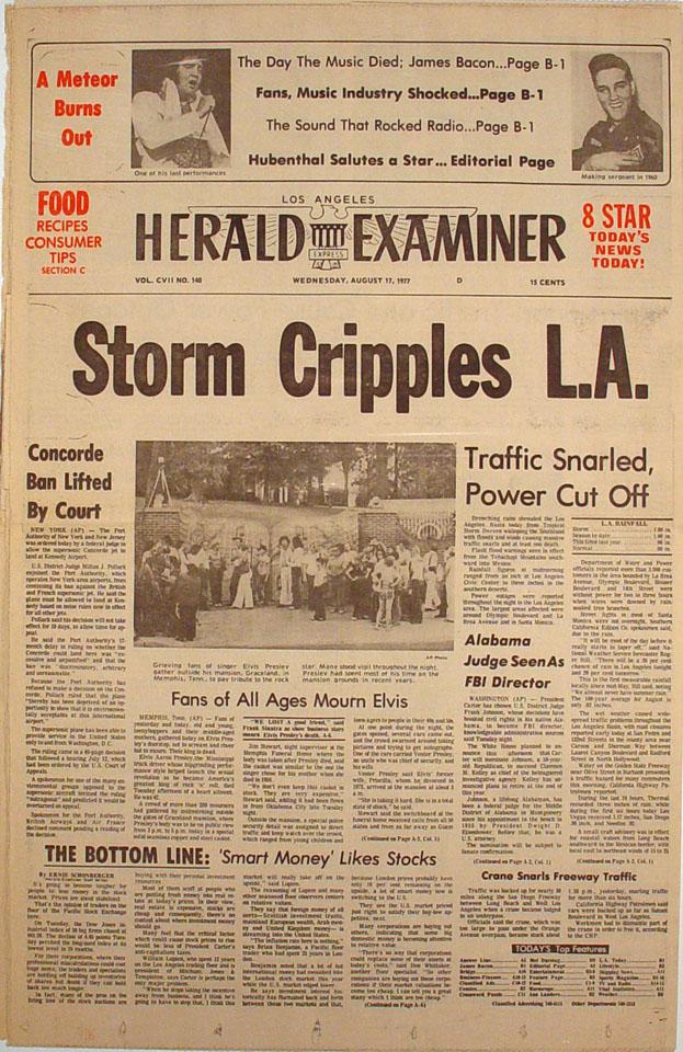Los Angeles Herald Examiner Vol. CVII No. 140