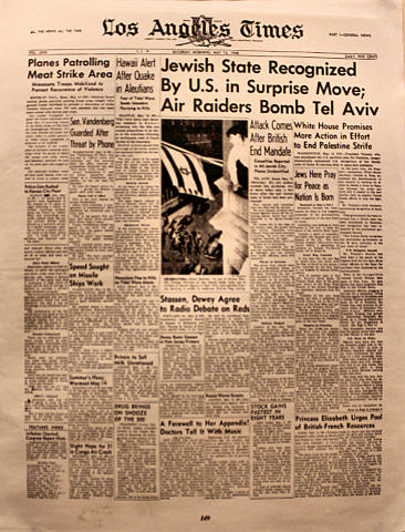 Los Angeles Times May 15, 1948 Poster