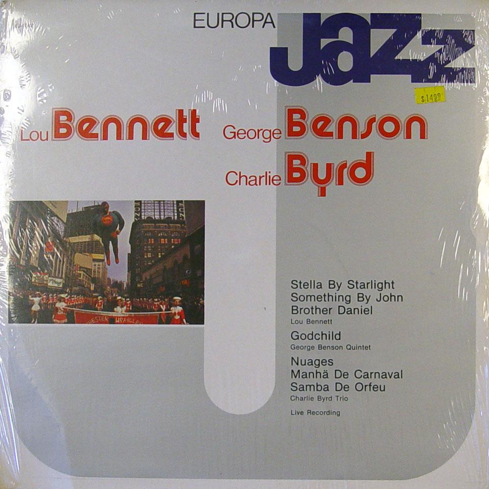 """Lou Bennett / George Benson / Charlie Byrd Vinyl 12"""" (New)"""