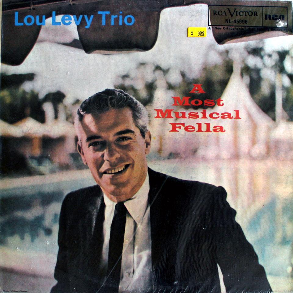 """Lou Levy Trio Vinyl 12"""" (New)"""