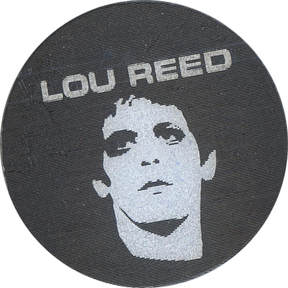 Lou Reed Pin