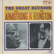 "Louis Armstrong & Duke Ellington Vinyl 7"" (Used)"