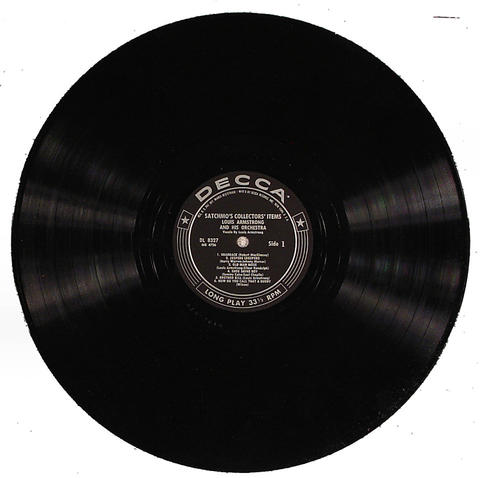 """Louis Armstrong And His Orchestra Vinyl 12"""" (Used)"""