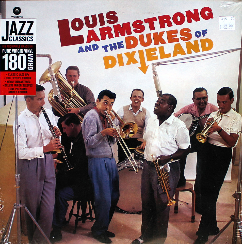 """Louis Armstrong And The Dukes Of Dixieland Vinyl 12"""" (New)"""
