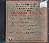 Louis Armstrong / Blanche Calloway / Clarence Williams CD