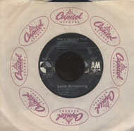 "Louis Armstrong / Wayne Fontana and The Mindbenders Vinyl 7"" (Used)"