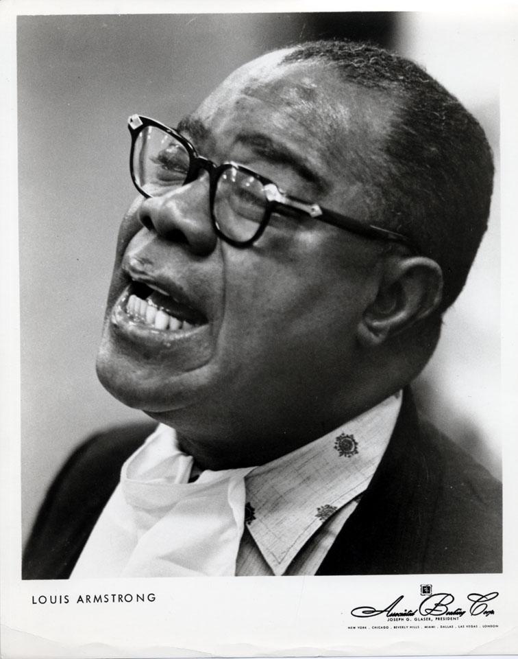 Louis Armstrong Promo Print
