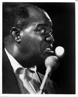 Louis Armstrong Vintage Print