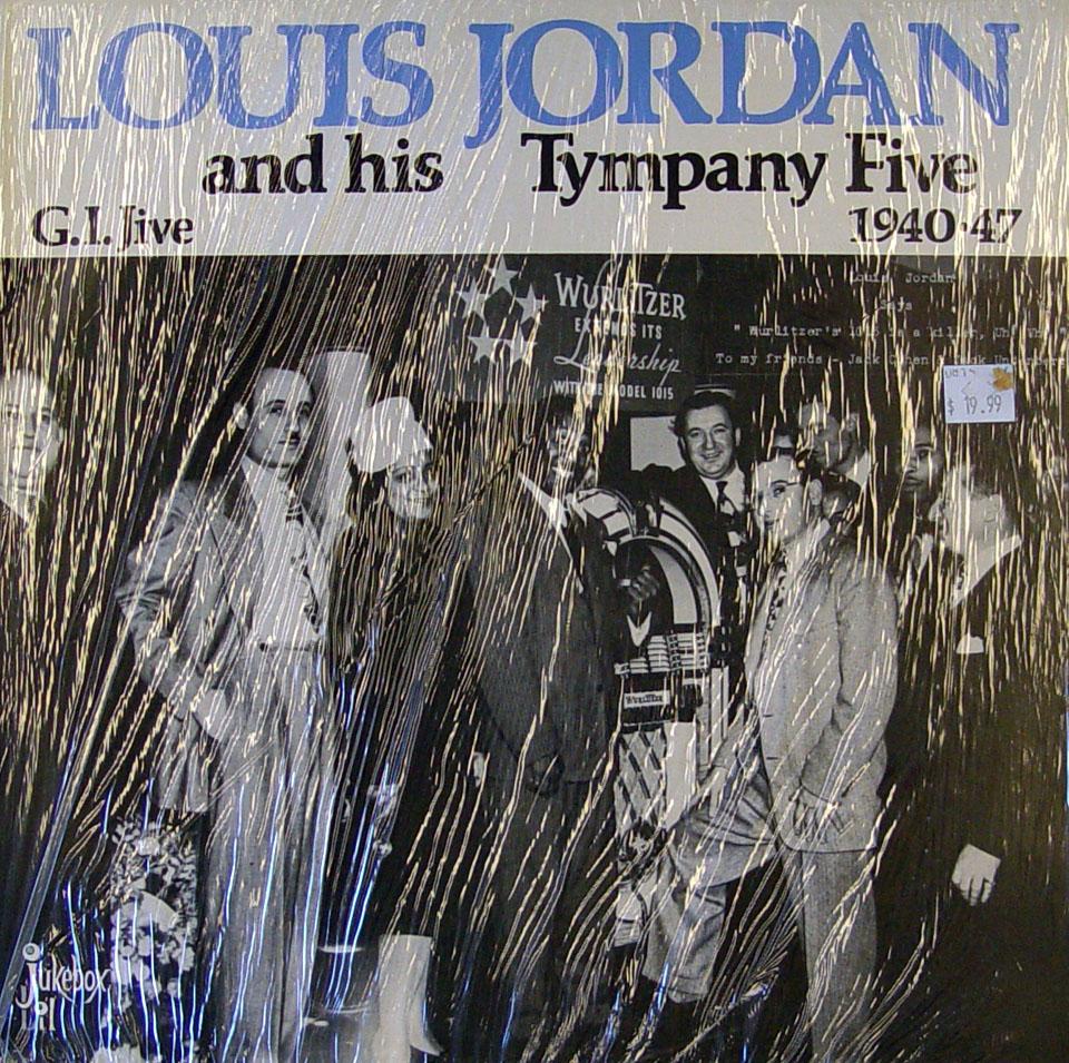 "Louis Jordan & His Tympany Five Vinyl 12"" (New)"