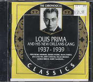 Louis Prima & His New Orleans Gang CD