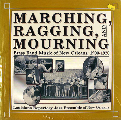 "Louisiana Repertory Jazz Enseble Of New Orleans Vinyl 12"" (New)"