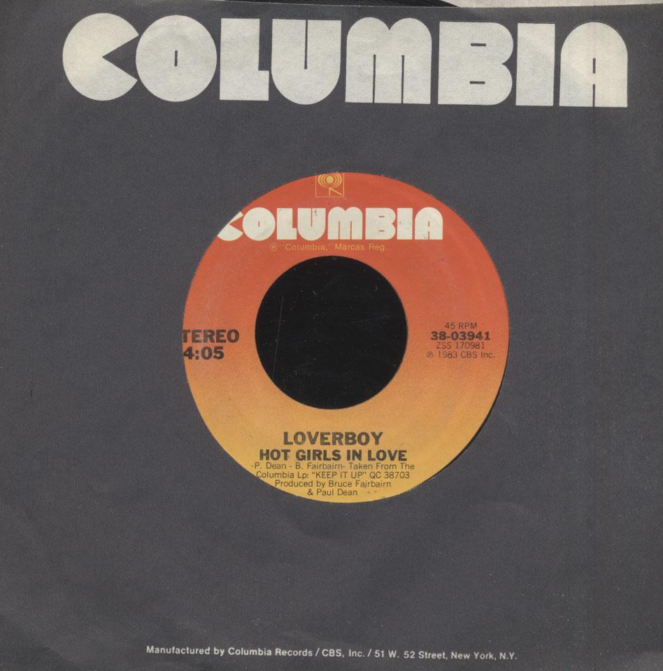 """Loverboy Vinyl 7"""" (Used)"""