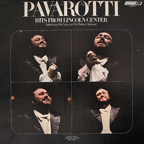 "Luciano Pavarotti Vinyl 12"" (Used)"
