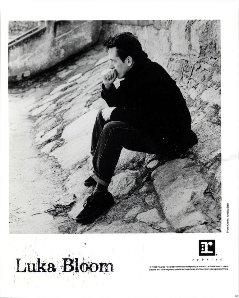Luka Bloom Promo Print
