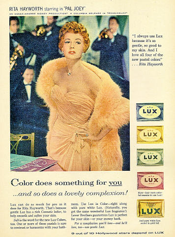 Lux Soap Vintage Ad