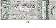 Lyle Lovett & His Large Band Vintage Ticket